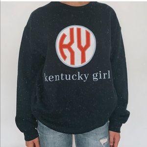 Kentucky girl Crewneck